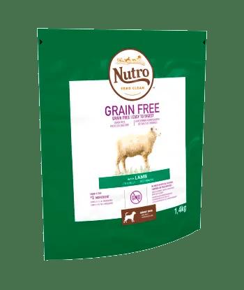 Nutro Grain Free Dry Adult Lamb 1.4kg Bag