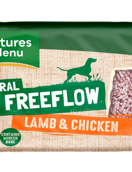 Natures Menu Freeflow Lamb & Chicken 2kg Front of pack