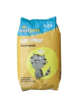 Bestpets Wood Litter 15 Litres Front of Pack