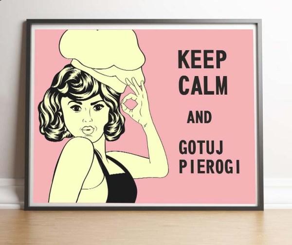 Fajny plakat Keep calm