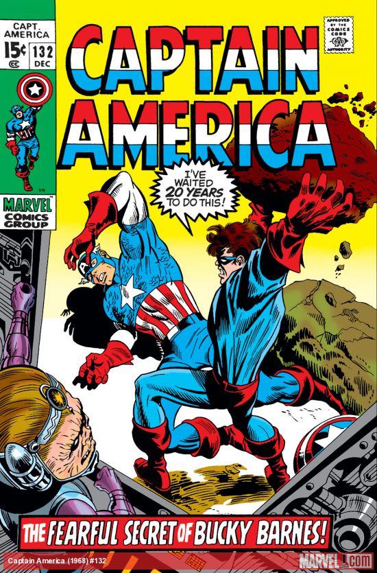 Captain America 132 avec Bucky