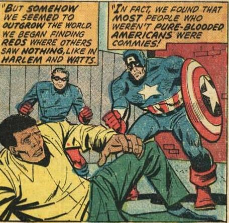 Captain America #155