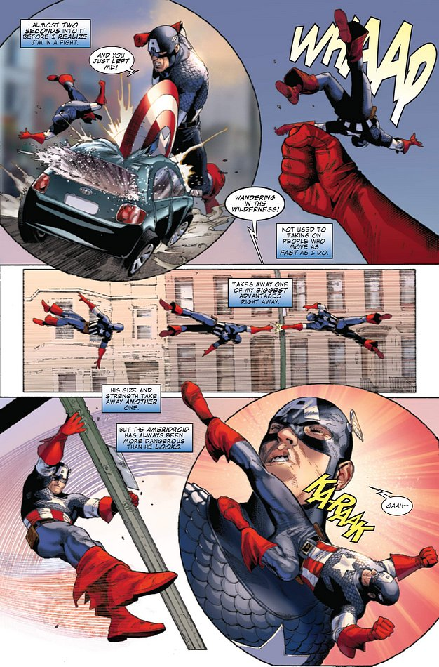Ameridroid dans Captain America