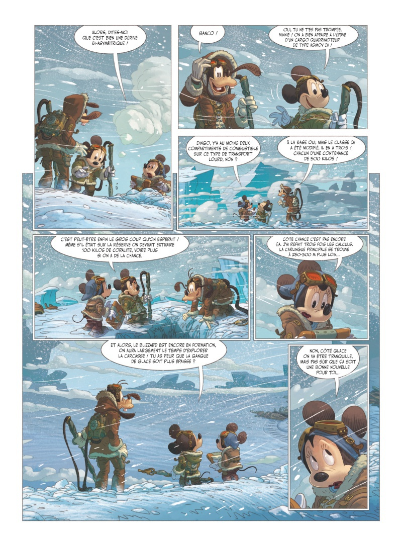 Mickey et l'Océan Perdu par Denis-Pierre Filippi et Silvio Camboni