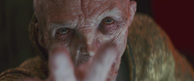 Snoke dans Star Wars 8 : Les Derniers Jedi