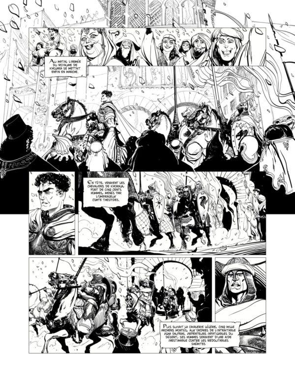 Conan le Cimmérien : le Colosse Noir, par Vincent Brugeas et Ronan Toulhoat chez Glénat