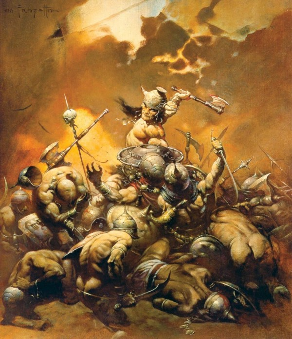 Conan le Barbare par Frank Frazetta