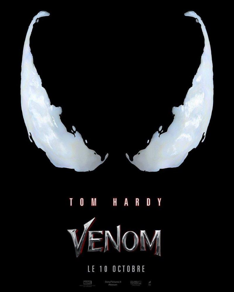 Venom, l'affiche française