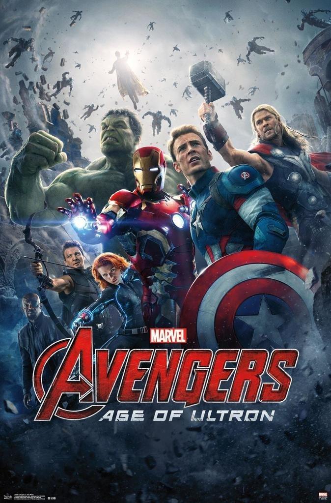 Affiche Avengers 2 : L'Ère d'Ultron