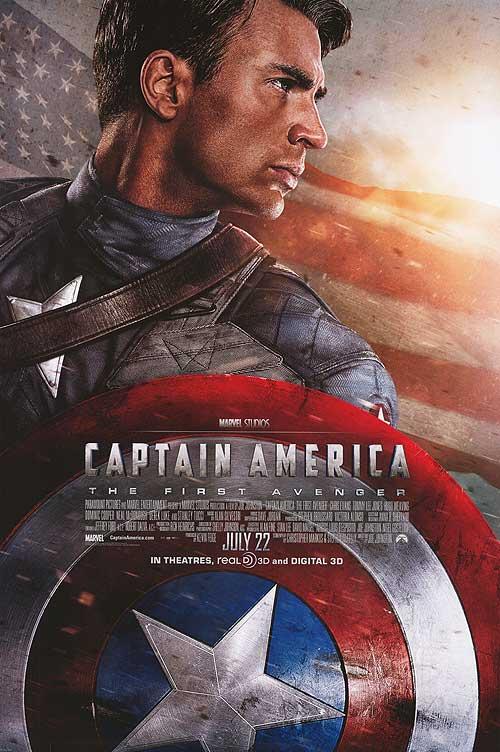 Affiche Captain America: First Avenger