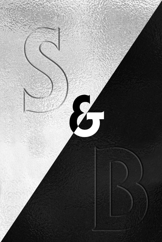 Affiche Silver & Black