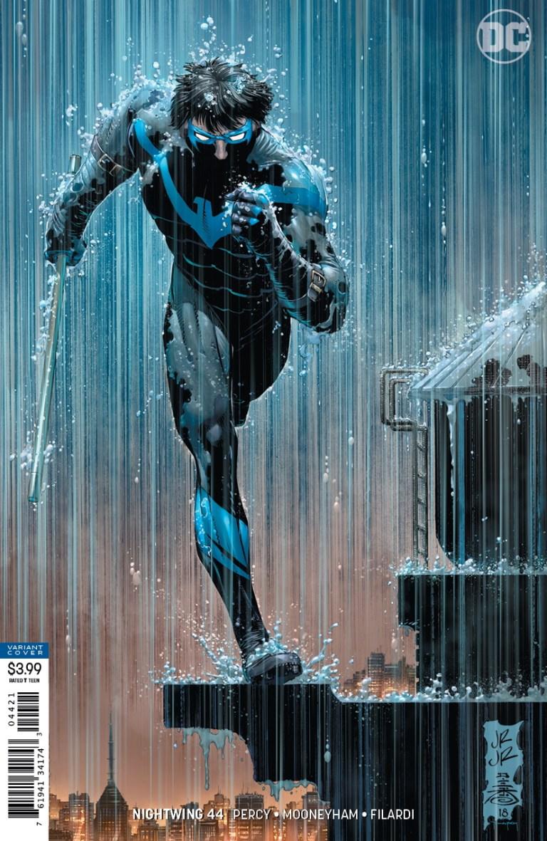 Nightwing #44 variant cover par John Romita Jr et Danny Miki