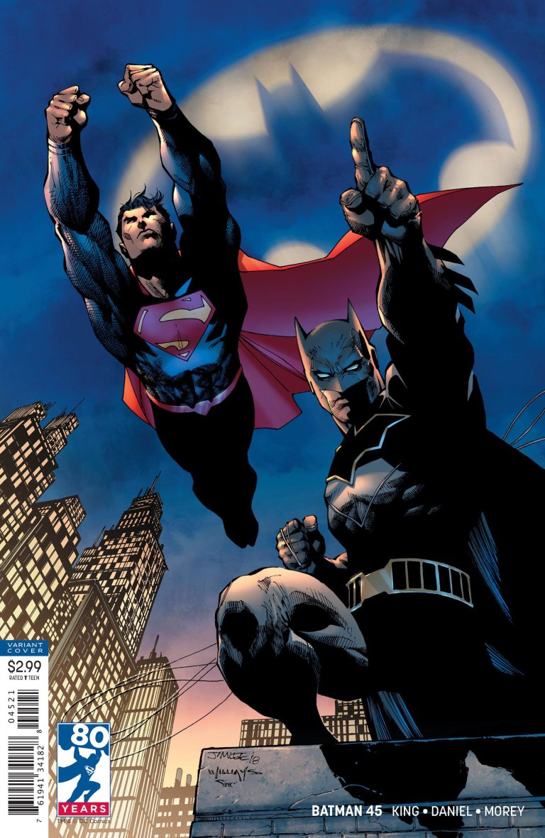 Batman #45 - variant cover par Jim Lee, Scott Williams et Alex Sinclair