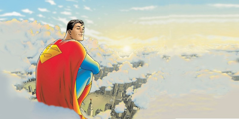 All-Star Superman par Frank Quietly. DC Comics