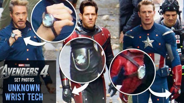 Avengers 4 - photos de tournage