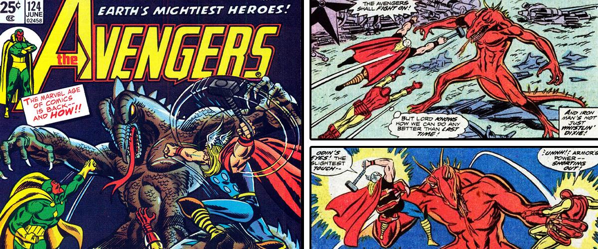 Avengers #123 (1974)