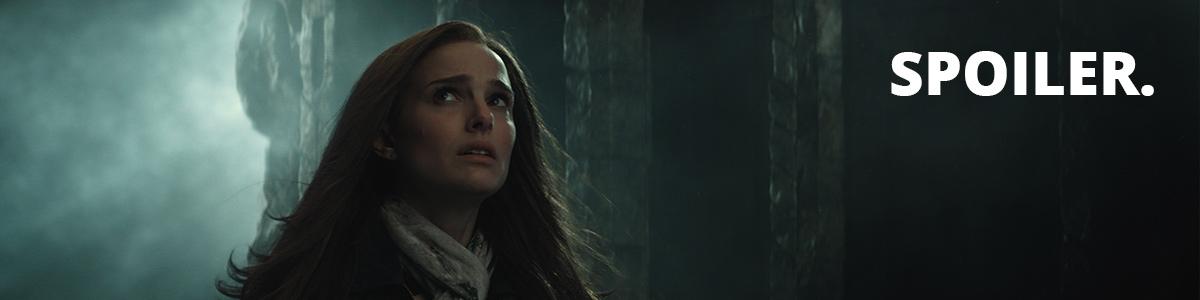 Jane Foster (Nathalie Portman) dans Thor