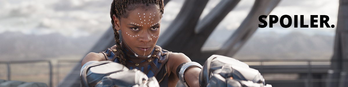 Shuri (Letitia Wright) dans Black Panther
