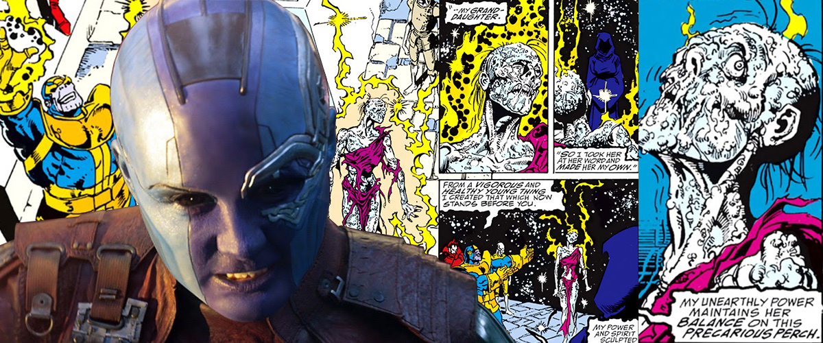 Nebula dans Avengers: Infinity War