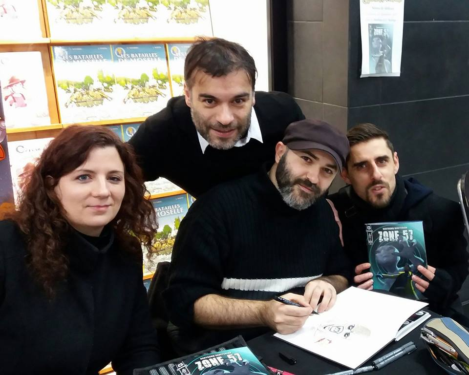 Ceel (coloriste), Carlos (scénariste), Guigui (dessinateur), Solynk (coloriste)