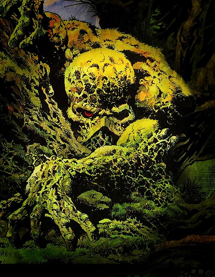 Swamp Thing par Bernie Wrightson.