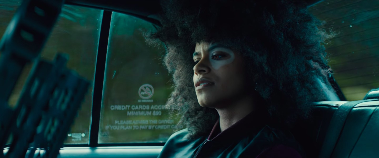 Domino (Zazie Beets) dans Deadpool 2