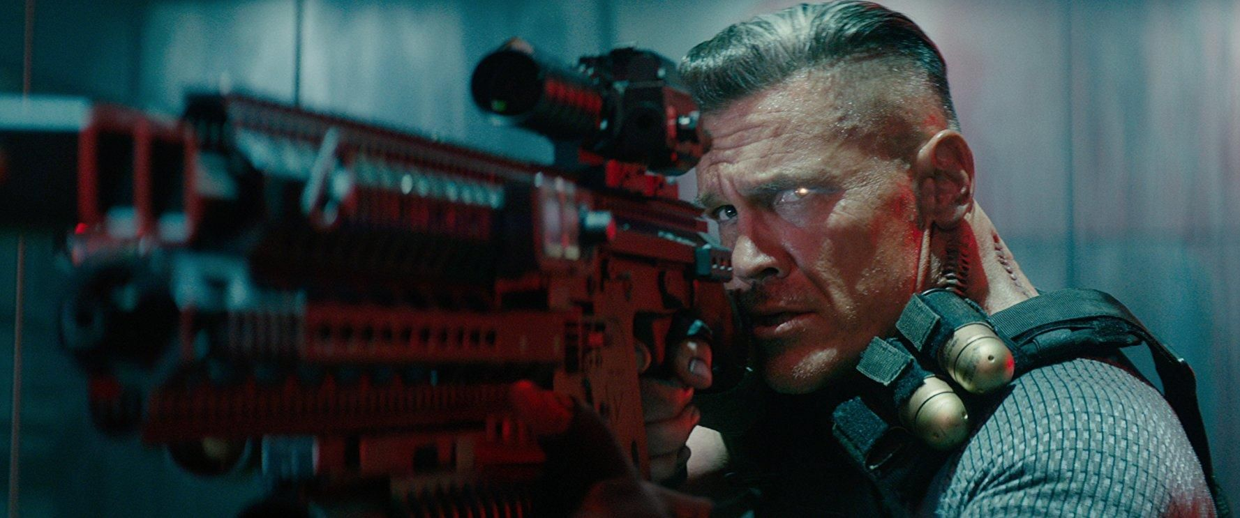 Cable (Josh Brolin) dans Deadpool 2