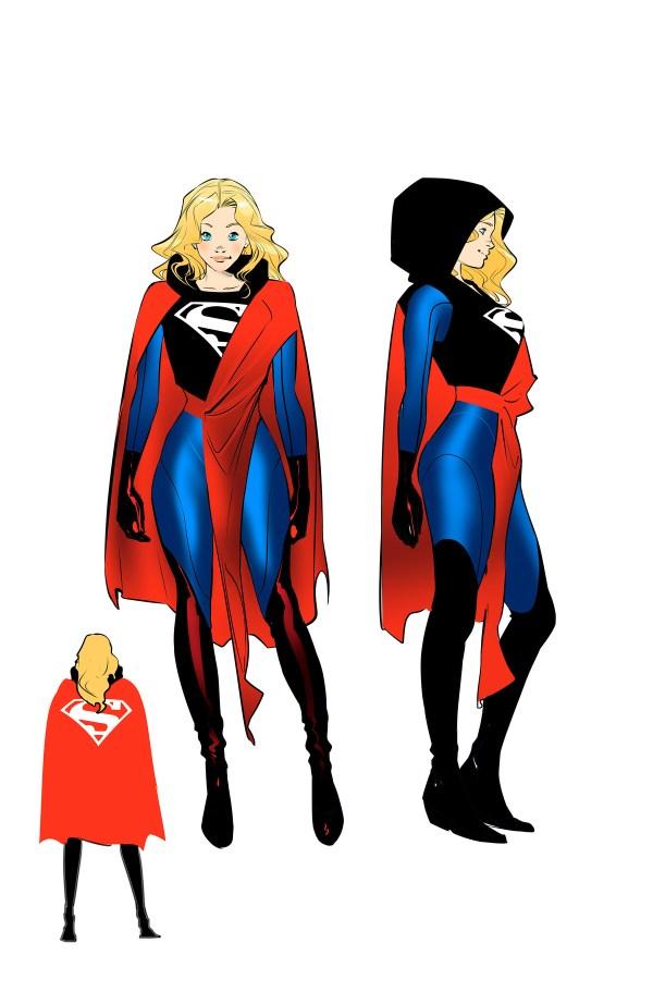Supergirl, recherches