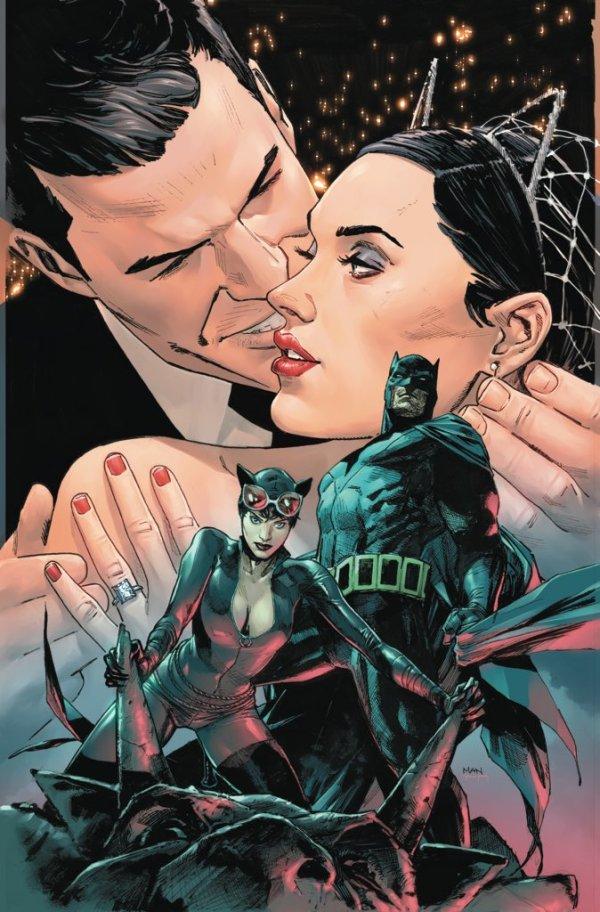 Batman #50, couverture alternative de Clay Mann