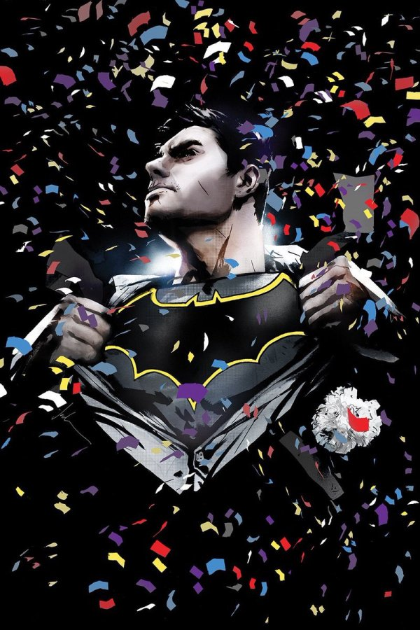 Batman #50, couverture alternative de Jock