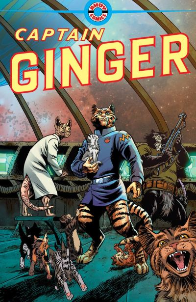 Captain Ginger, AHOY Comics