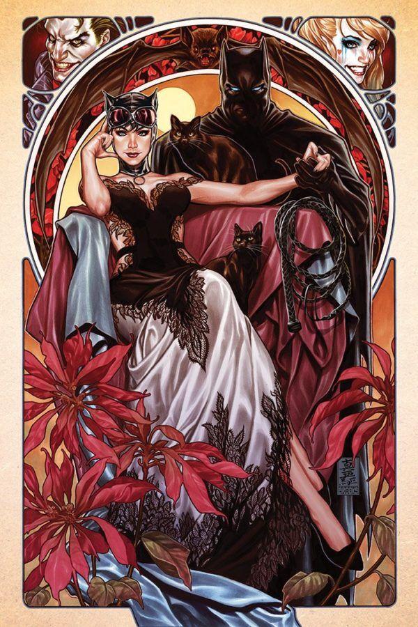 Batman #50, couverture alternative de Mark Brooks