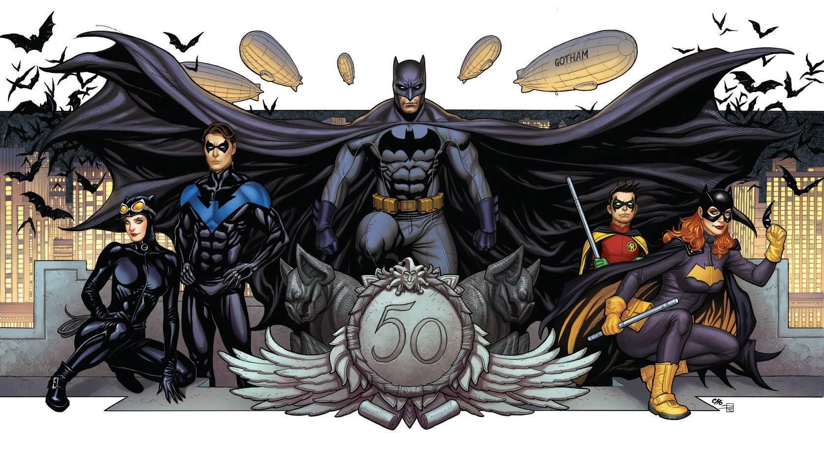 Batman #50, couverture alternative de Frank Cho