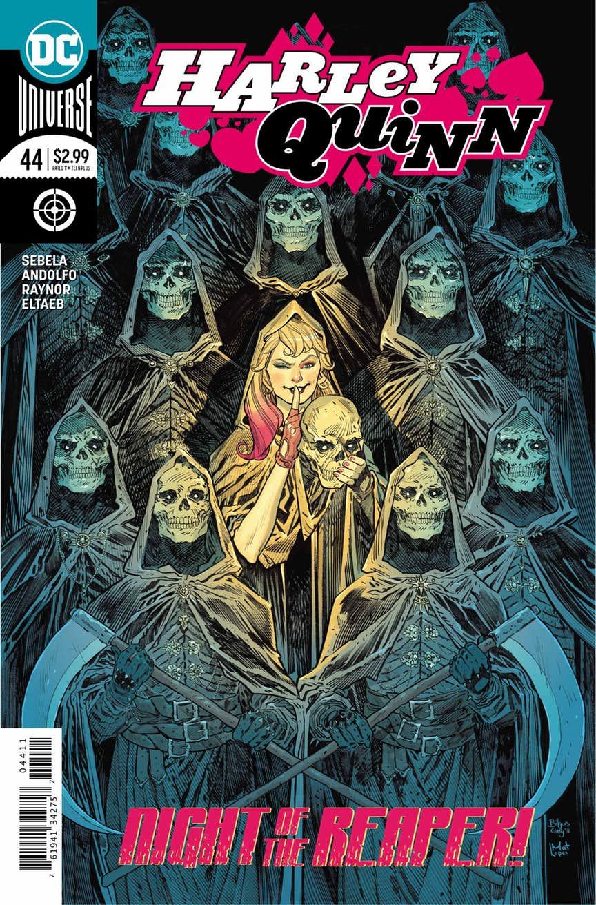 Harley Quinn #44, couverture de John Timms