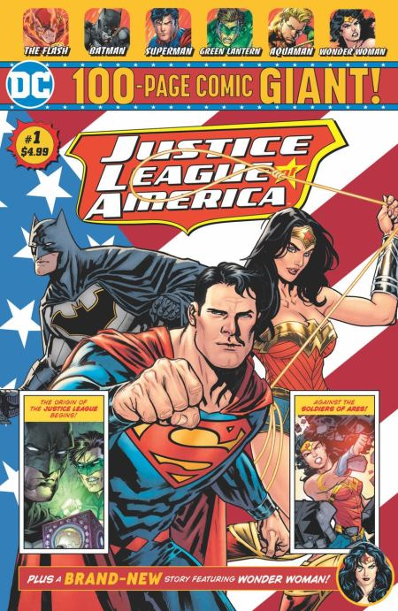 Justice League of America Giant #1 avec Jimmy Palmiotti et Amanda Conner