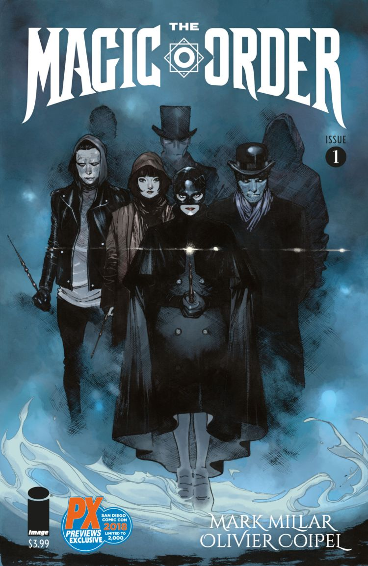 The Magic Order #1, couverture alternative d'Olivier Coipel