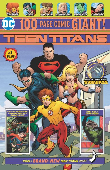 Teen Titans Giants #1, avec Dan Jurgens et Scot Eaton