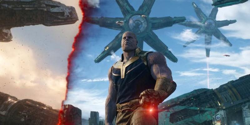 Thanos dans Avengers: Infinity War