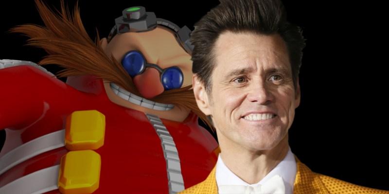 Jim Carrey dans le rôle du Dr Eggman dans un film Sonic the Edgehog ?