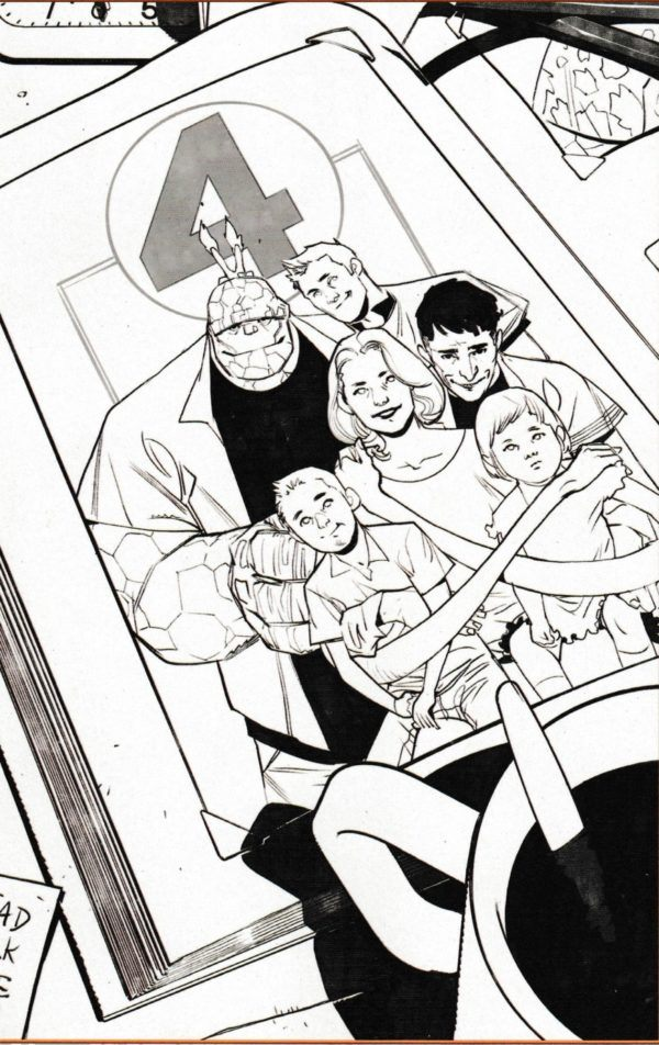 Fantastic Four #1 par Dan Slott et Sara Pichelli