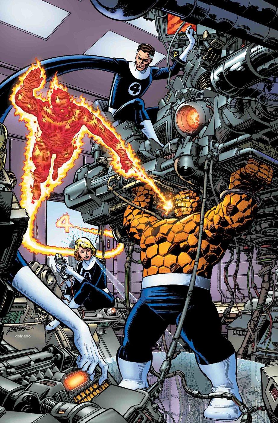 Fantastic Four #1 -couverture variante par George Perez