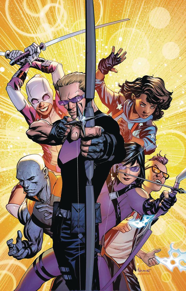 West Coast Avengers #1, la couverture alternative par Mike McKone.