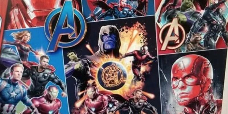 Image promotionnelle d'Avengers 4.