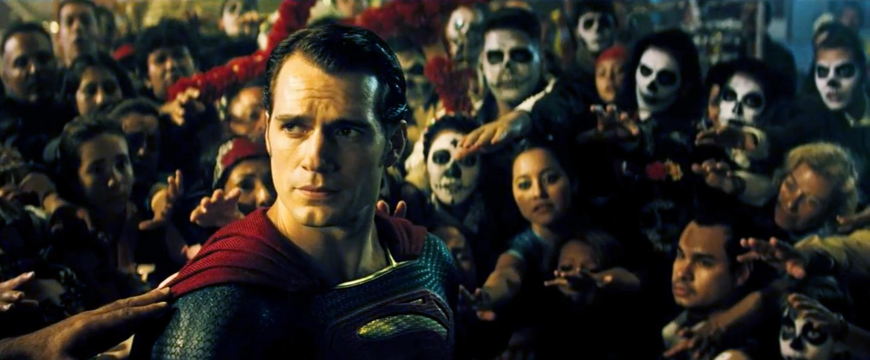 Henry Cavill dans Batman v Superman