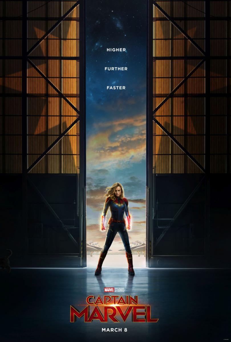 Captain Marvel, l'affiche officielle