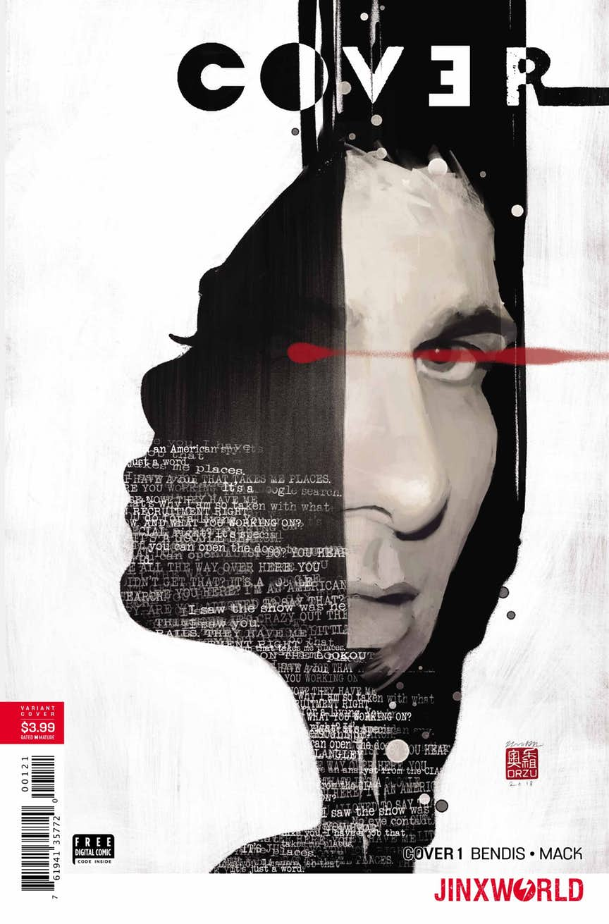 Cover #1, par Brian Michael Bendis et David Mack