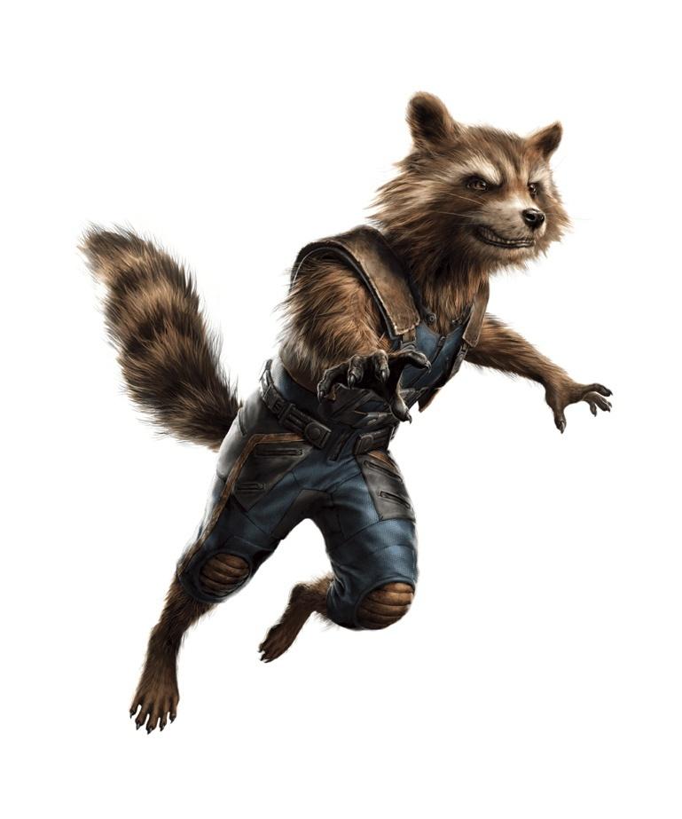 Rocket Raccoon dans Avengers 4