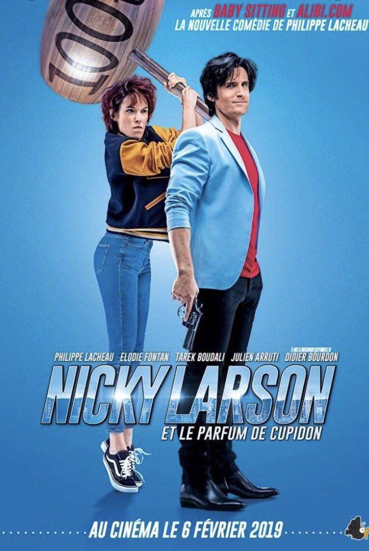 Nicky Larson et le Parfum de Cupidon, nouvelle affiche