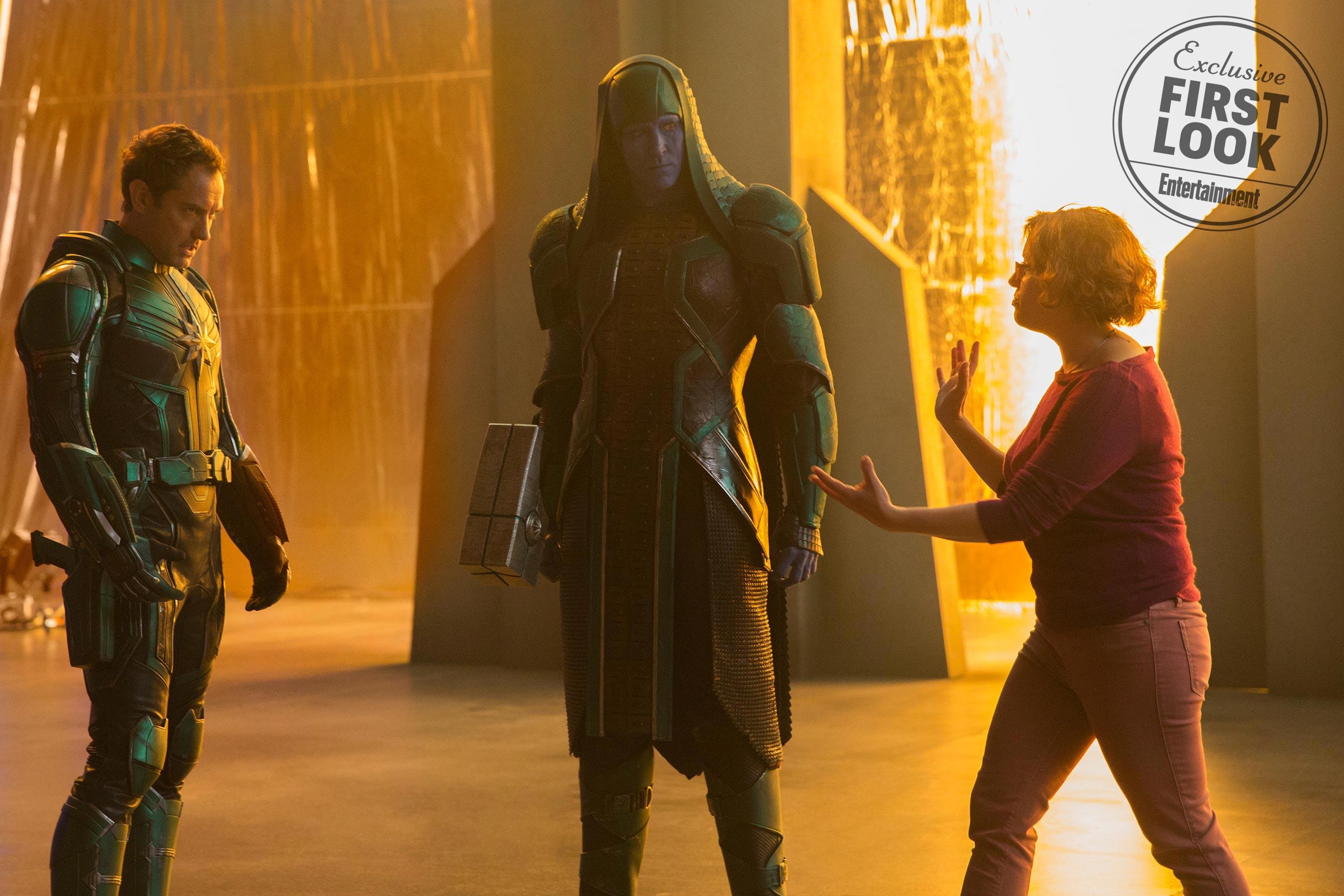 Ronan l'Accusateur (Lee Pace) dans Captain Marvel