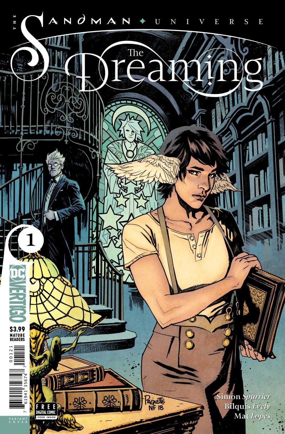 The Dreaming, la couverture alternative de Yanick Paquette